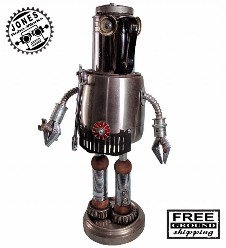 Mechanic Mike Robot-Jones-Robo-Works-Sculpture-Image-1